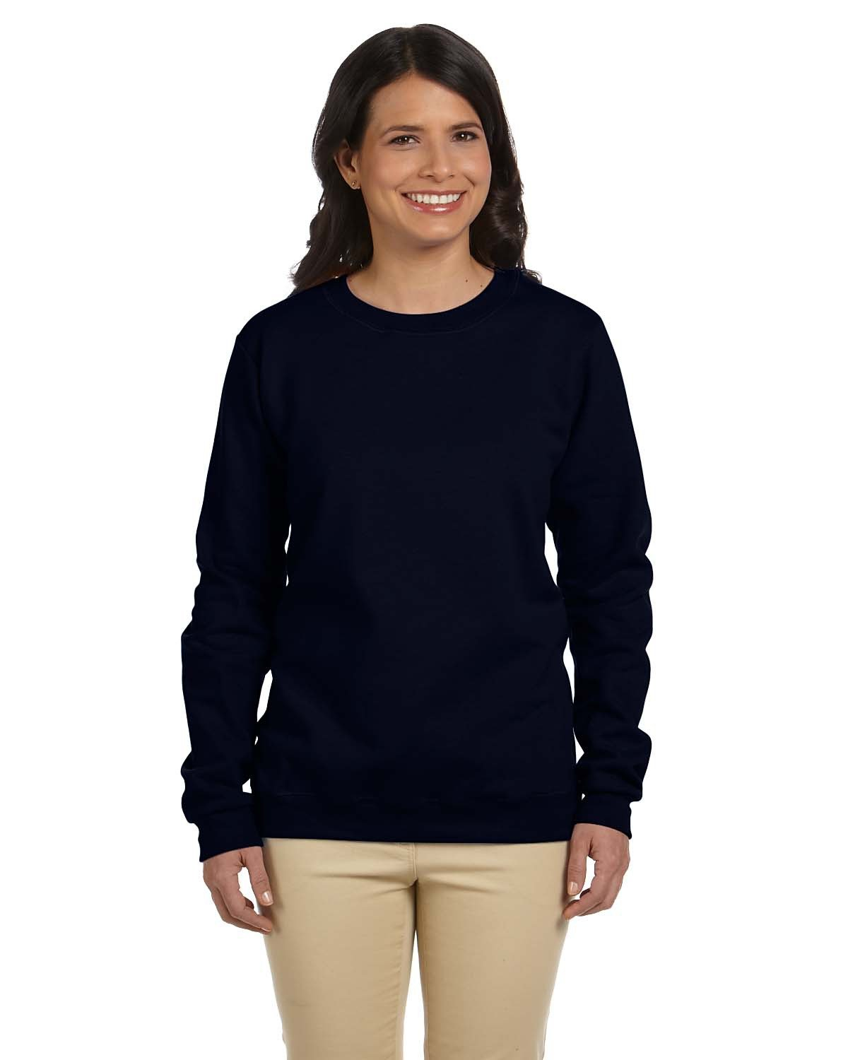 Gildan - G180FL - Ladies' Heavy Blend™  8 oz., 50/50 Fleece Crew