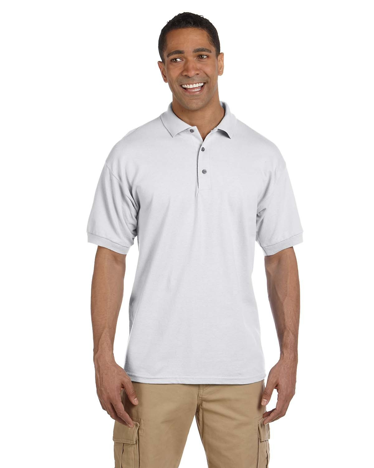 Gildan - G380 - Adult Ultra Cotton® 6.5 oz. Piqué Polo