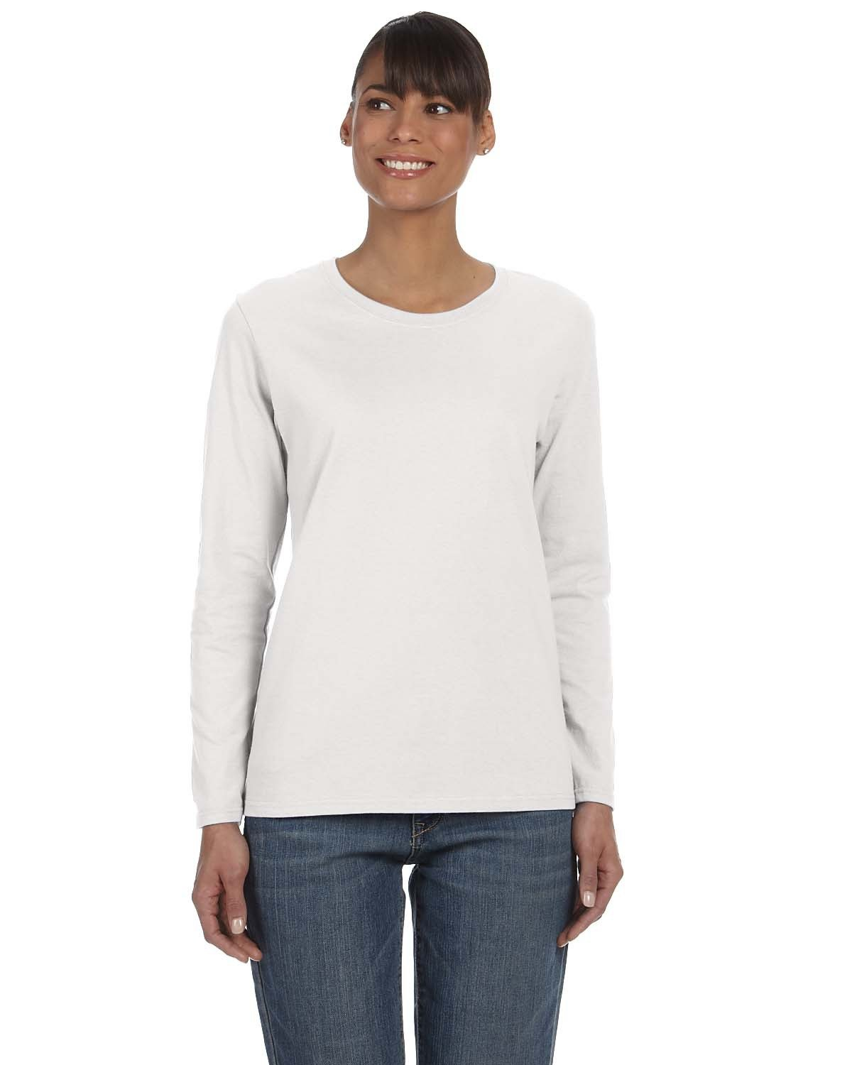 Gildan - G540L - Ladies' 5.3 oz. Long-Sleeve T-Shirt