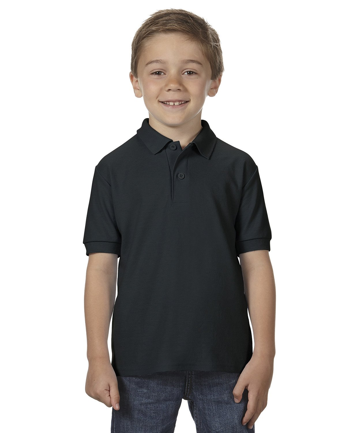 Gildan - G728B - Youth DryBlend® 6.3 oz. Double Piqué Polo