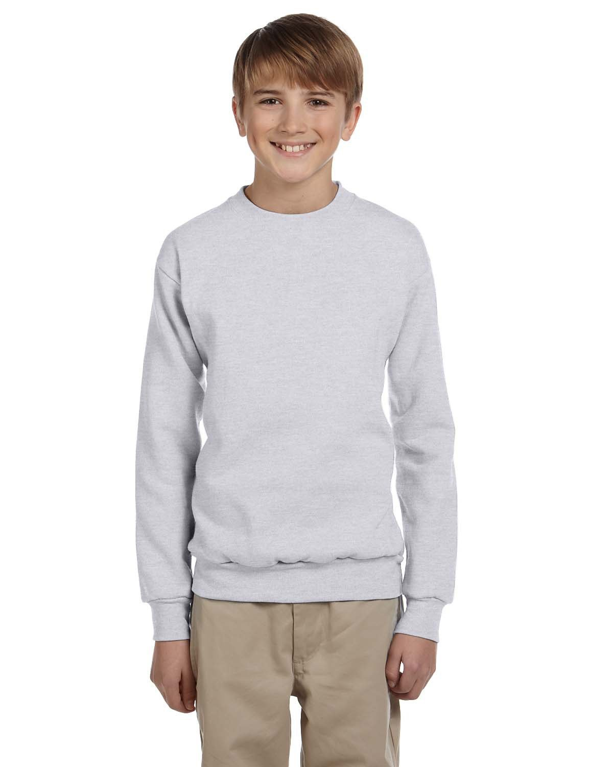 Hanes - P360 - Youth 7.8 oz. ComfortBlend® EcoSmart® 50/50 Fleece Crew