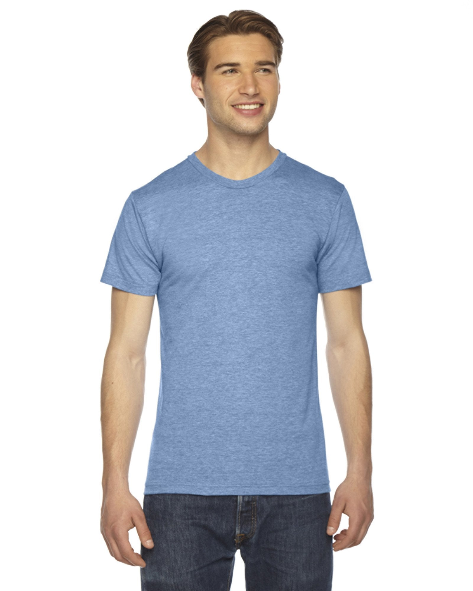American Apparel - TR401 - Unisex Triblend Short-Sleeve Track T-Shirt
