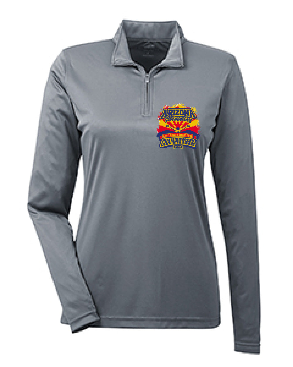 Arizona Ladies Performance Quarter-Zip Pullover
