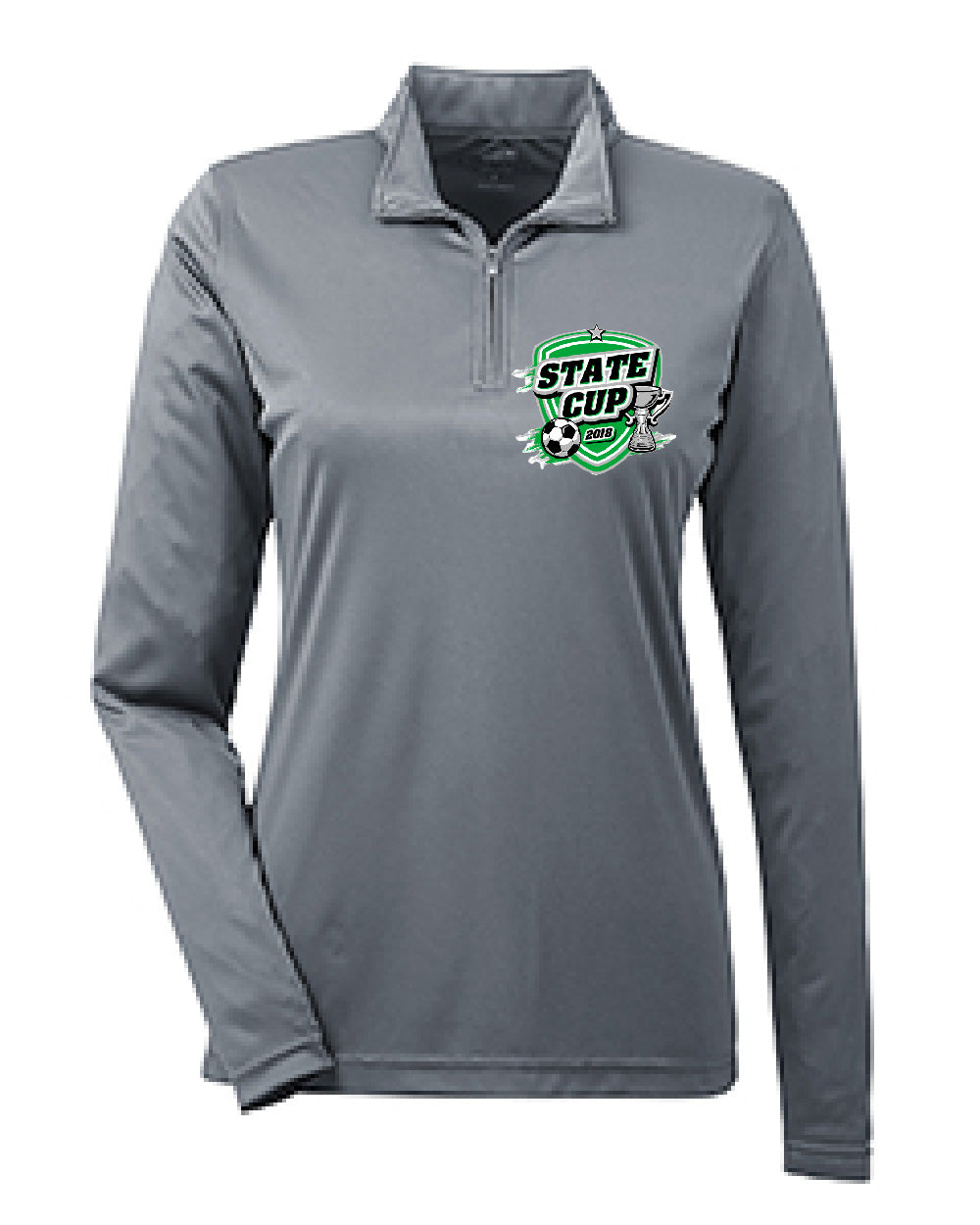 Demo Ladies Performance Quarter-Zip Pullover