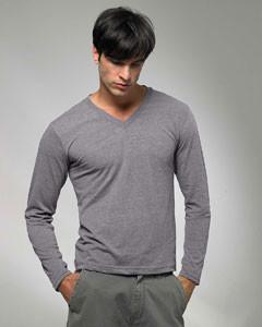 American Apparel - TR476 - Tri-Blend Unisex Long Sleeve V-Neck