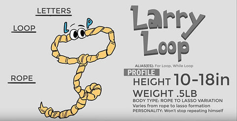 Bitcubs Cartoon Character Larry Loop
