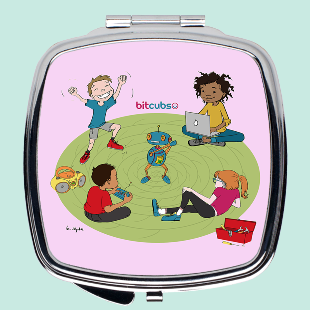 Coding Kids Compact Mirror