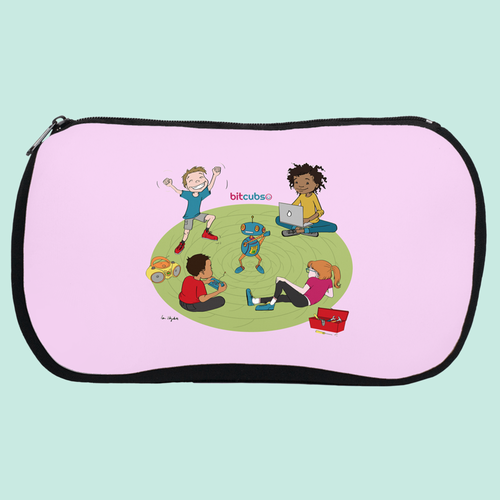 Coding Kids Cosmetic Bag