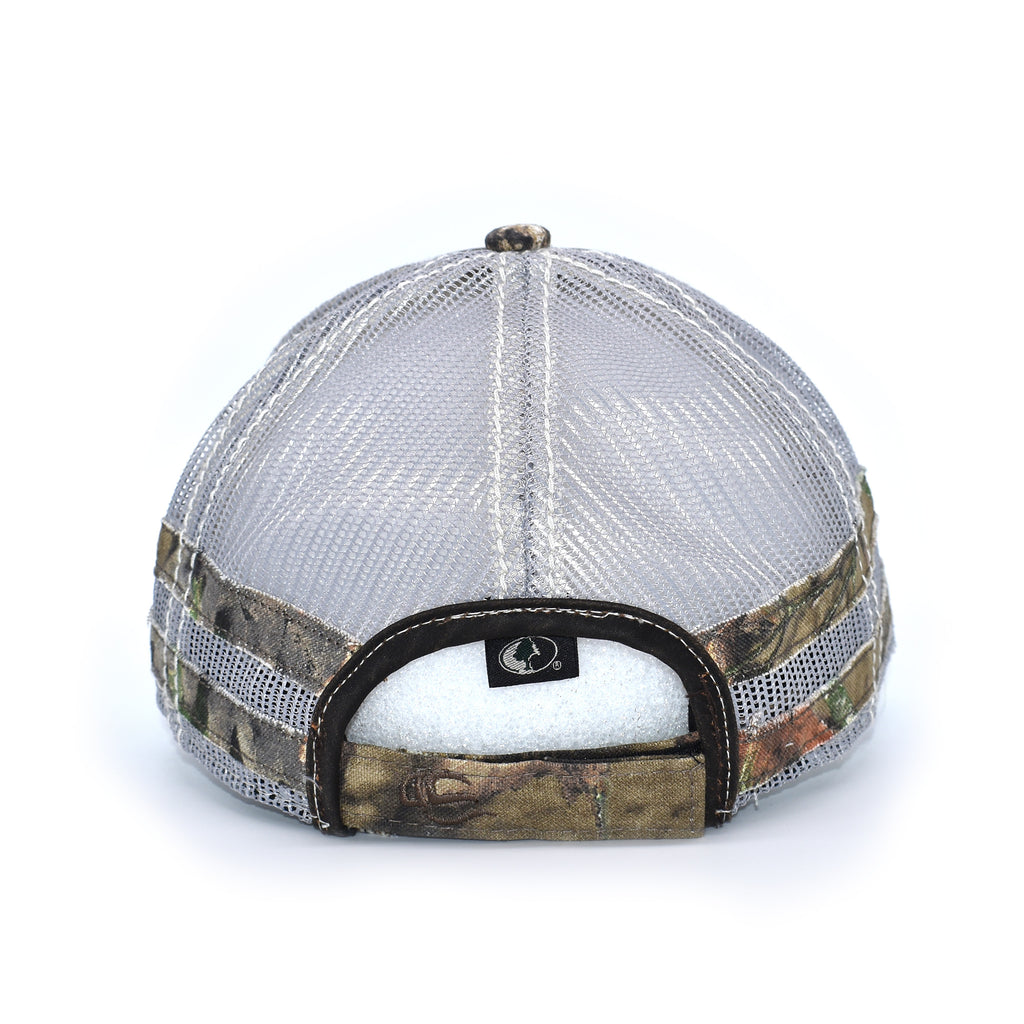 Brown Camo Caribou Sport Frayed Hat - Bucks of America