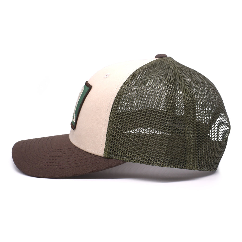 Duck Patch Tan / Loden / Brown Hat - Bucks of America