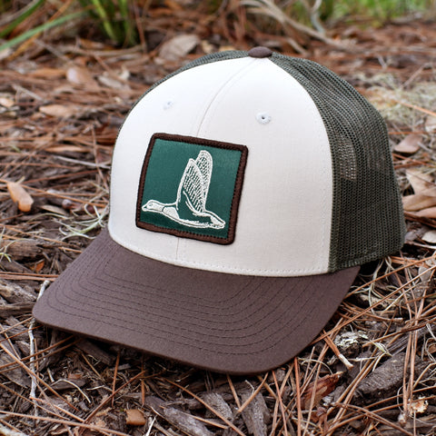 Image of Duck Patch Tan / Loden / Brown Hat