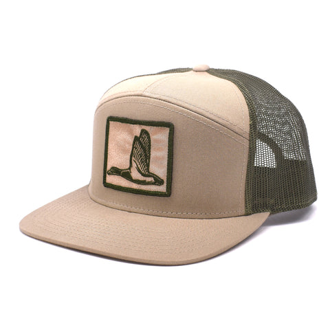 Image of Duck Patch Khaki & Loden Hat - Bucks of America