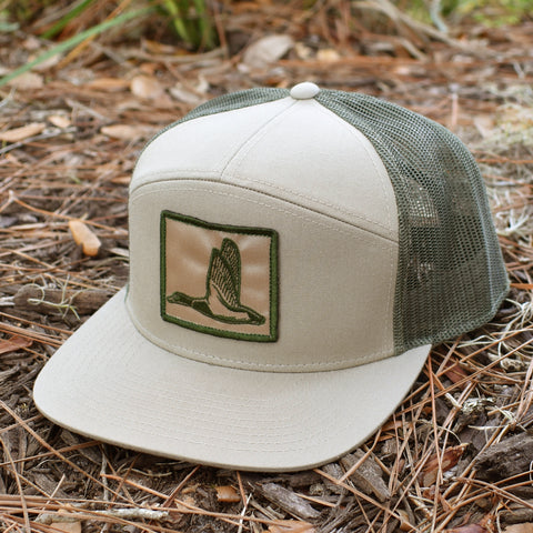 Image of Duck Patch Khaki & Loden Hat