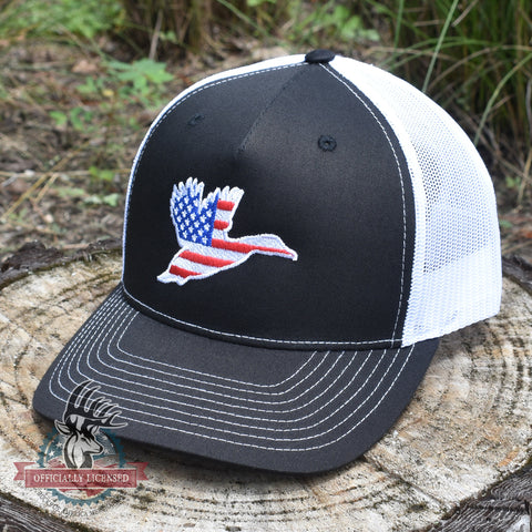 Image of American Flag Duck Hat - Bucks of America