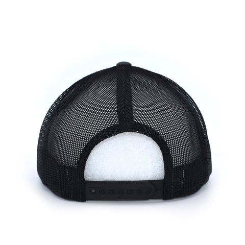 Georgia Crappie Fishing Hat - Charcoal / Black