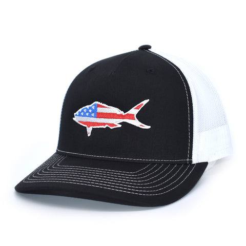 Image of American Flag Amberjack Hat - Bucks of America