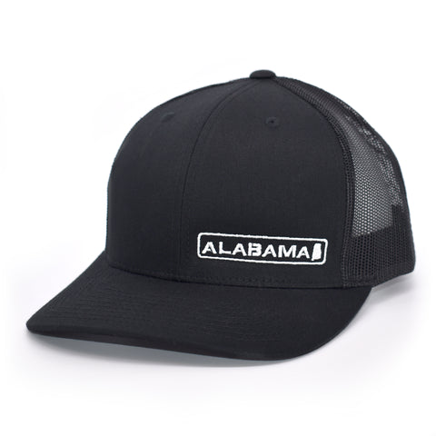 Alabama State Hat - Black - Bucks of America