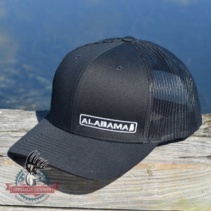 Alabama State Hat - Black