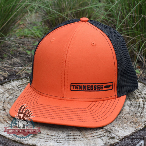 Tennessee State Hat - Orange / Black - Bucks of America