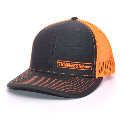 Tennessee State Hat - Charcoal / Orange - Bucks of America
