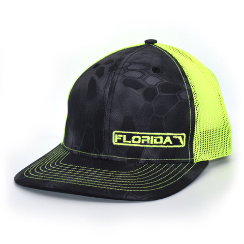 Image of Florida State Hat - Typhon / Neon Green - Bucks of America
