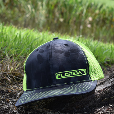 Image of Florida State Hat - Typhon / Neon Green