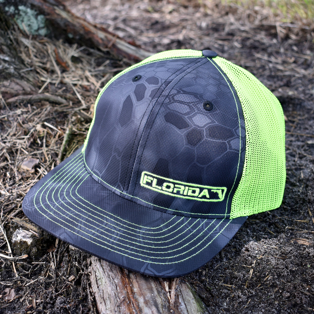 Florida State Hat - Typhon / Neon Green