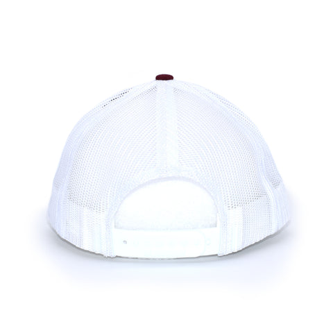 Alabama Carp Fishing Hat - Crimson / White
