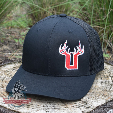 Bucks of Utah Red/White U SnapBack Hat - Bucks of America