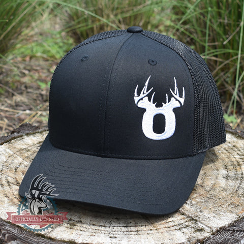 Bucks of Oregon Antler Logo Hat - Black - Bucks of America