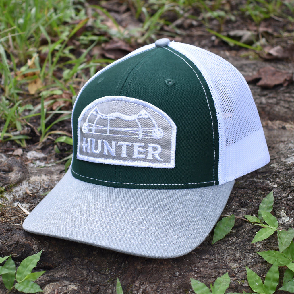 Bow Hunter- Dark Green / White / Grey - Bucks of America
