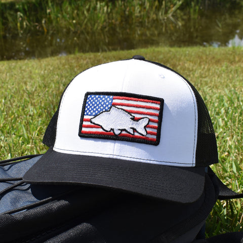 Carp of America  - White/Black - Bucks of America