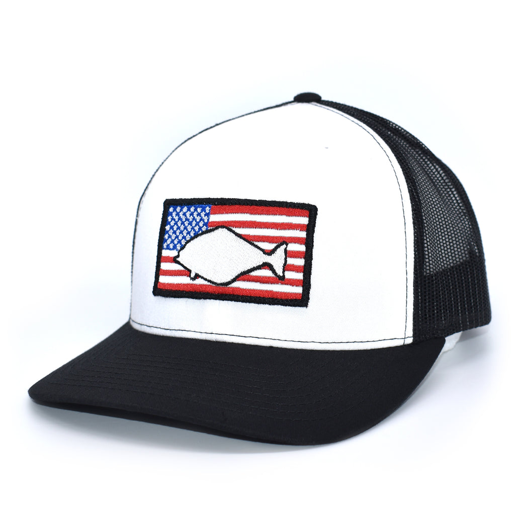 Halibut of America  - White/Black - Bucks of America