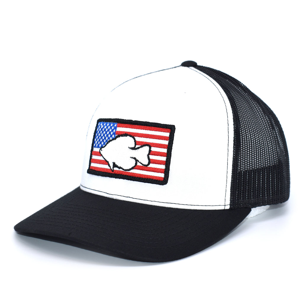 Crappie of America  - White/Black - Bucks of America