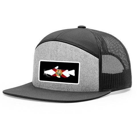 Florida Flag Catfish Patch Hat