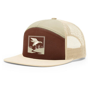 Duck Hunt Brown & Khaki Hat - Bucks of America