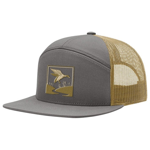 Duck Hunt Charcoal & Gold Hat
