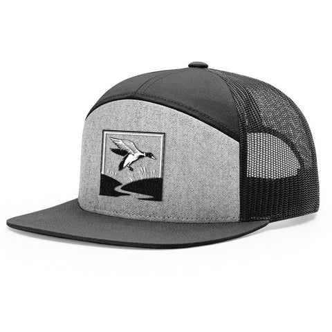 Duck Hunt Heather Grey & Black Hat - Bucks of America