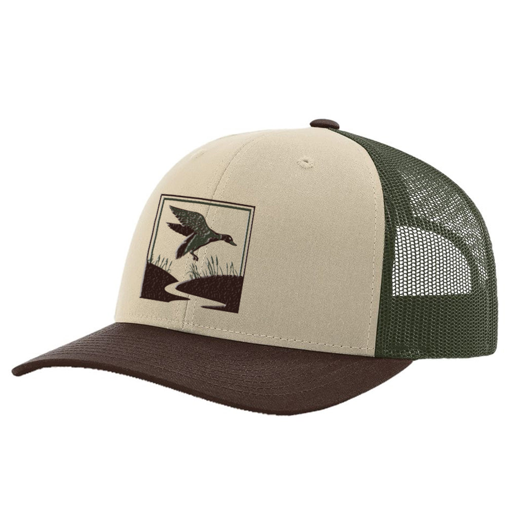 Duck Hunt Tan / Loden / Brown Hat
