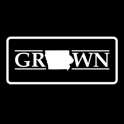 Image of Snapback Iowa Grown Patch Hat - FREE 4in decal included