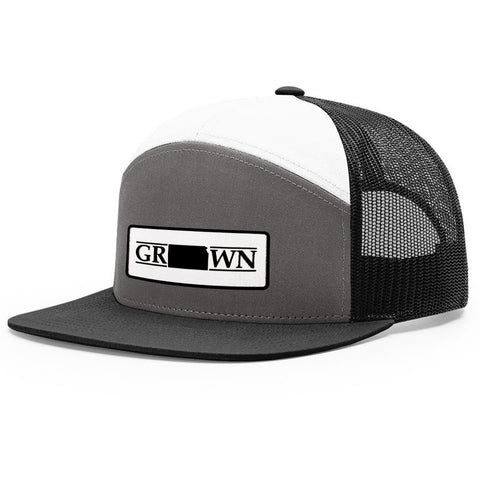 Image of Snapback Kansas Grown Patch Hat