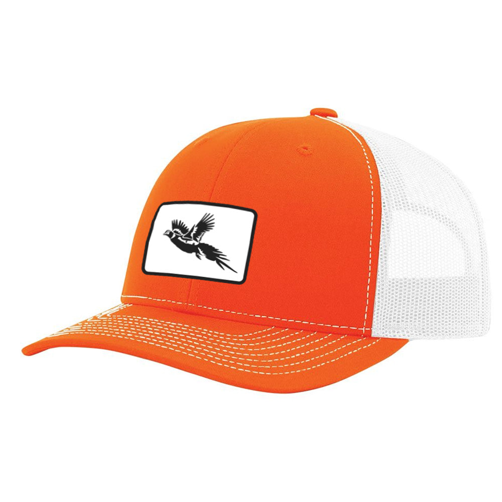 Pheasant Patch Orange / White Hat - Bucks of America
