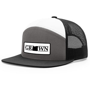 Snapback Oregon Grown Patch Hat
