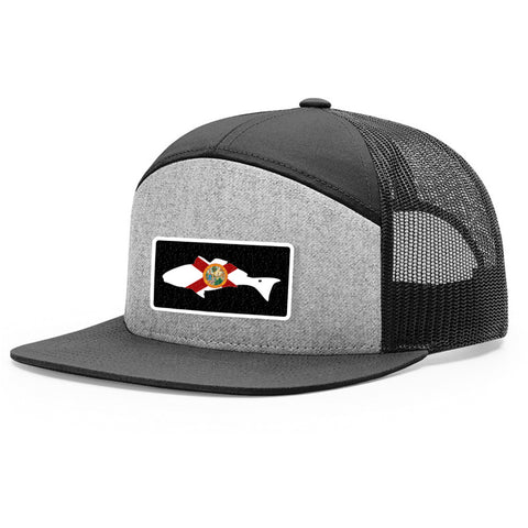 Florida Flag Redfish Patch Hat