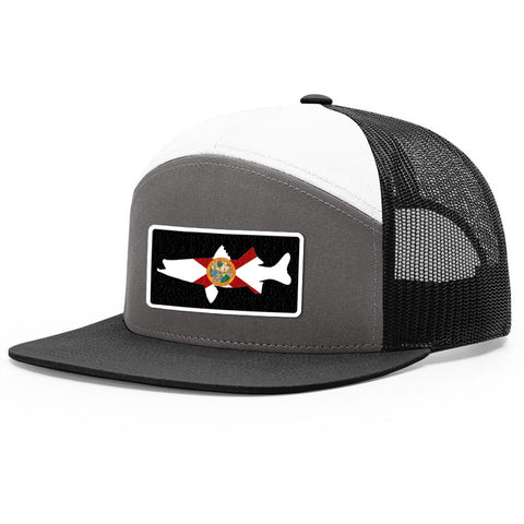 Image of Florida Flag Snook Patch Hat