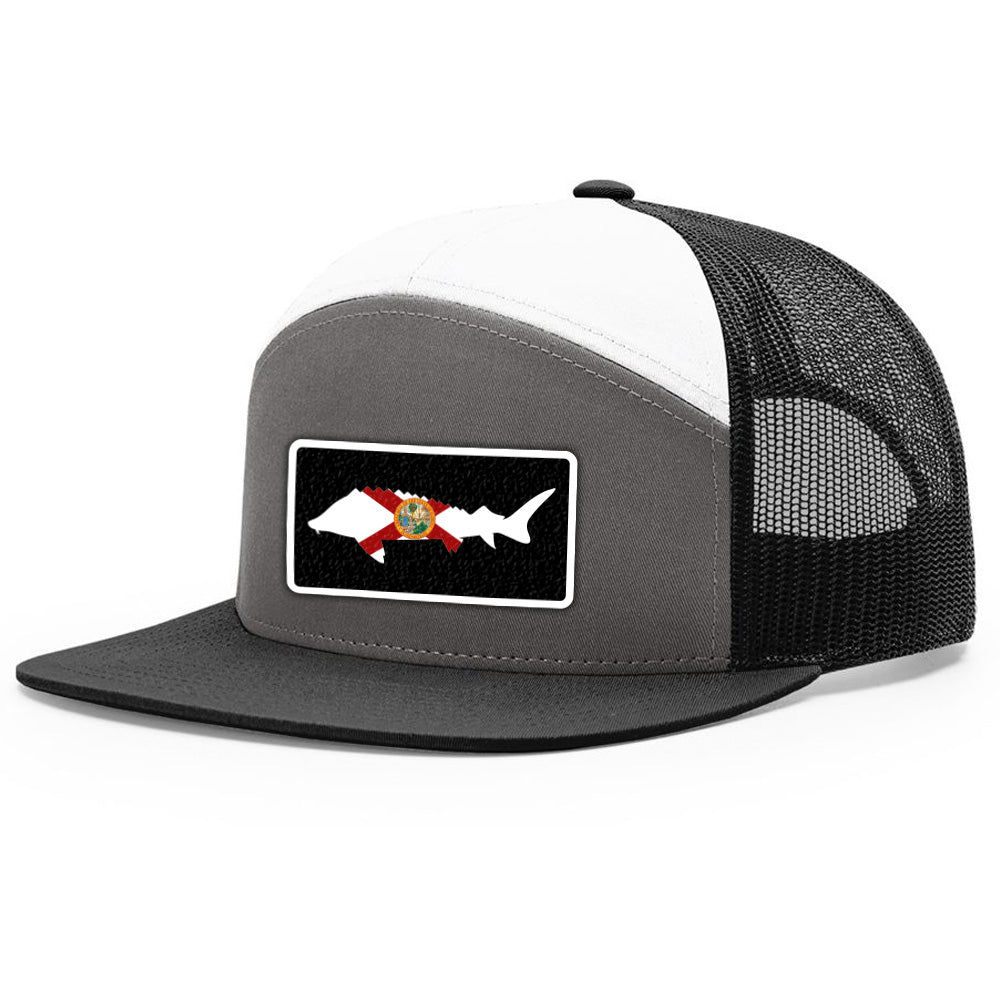 Florida Flag Sturgeon Patch Hat