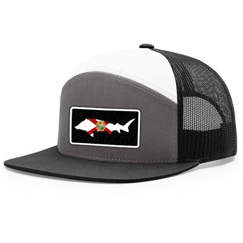 Image of Florida Flag Sturgeon Patch Hat