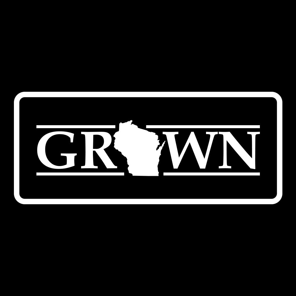 Snapback Wisconsin Grown Patch Hat - FREE 4in decal included - Bucks of America
