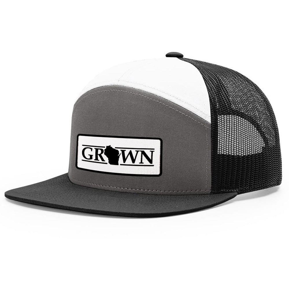 Snapback Wisconsin Grown Patch Hat - Bucks of America