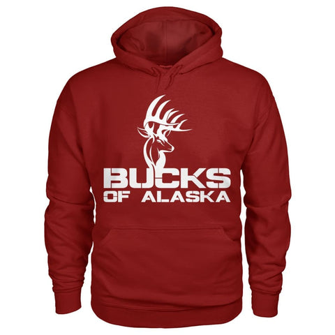 Bucks of Alaska  Gildan Hoodie - Bucks of America